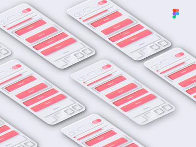 Figma Soft UI Design Neumorphism
