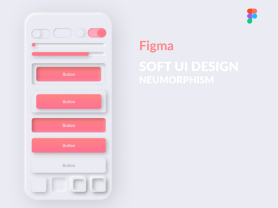 NEUMORPHOSM DESIGN in Figma