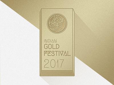 GOLD FESTIVAL unit logo gold festival design india bar gold