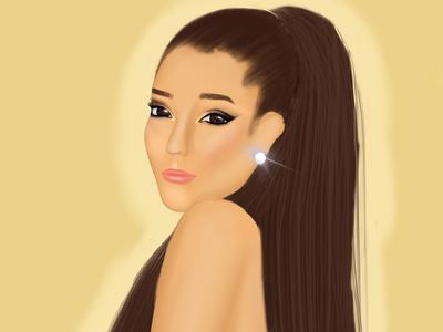 Ariana Grande being Ariana Grande