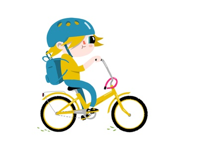 The School Traveller drawing childrens illustration digital illustration digital art illustrator illustration characters character design characterdesign