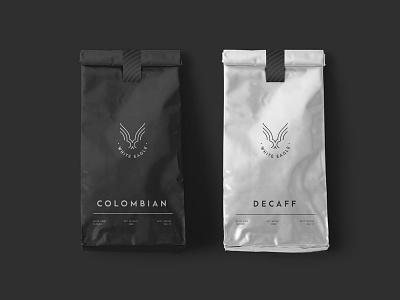 White Eagle Coffee ollestudio minimal colombian dark coffee poland white eagle