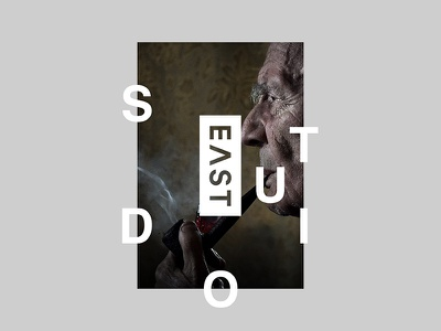 East Studio design kv key visual ollestudio movie typography studio grid minimal