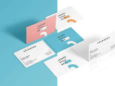 Północna 5 Business Cards residence office website brand pastels identity branding logo minimal