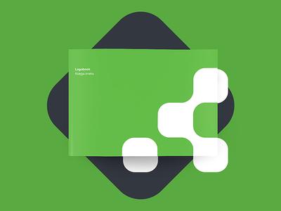 Kontakt.io - Beacons & Beyond brand book graphic design logo color minimal solution software cover branding brand identity