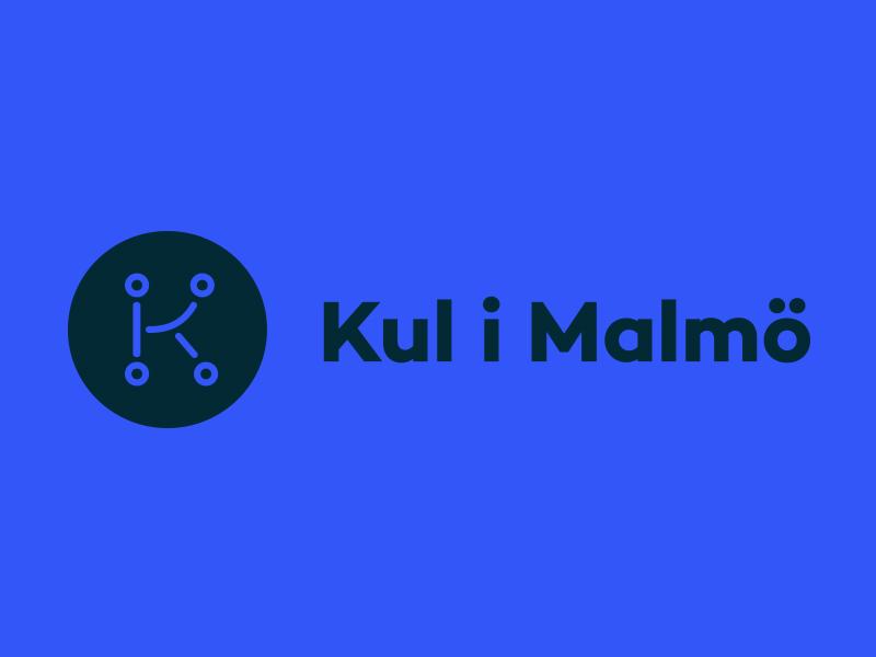 Logo redesign of event finder app Kul i Malmö logo sweden redesign rebranding malmö icon eventfinder event app