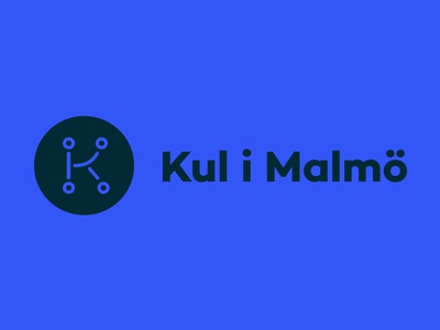 Logo redesign of event finder app Kul i Malmö