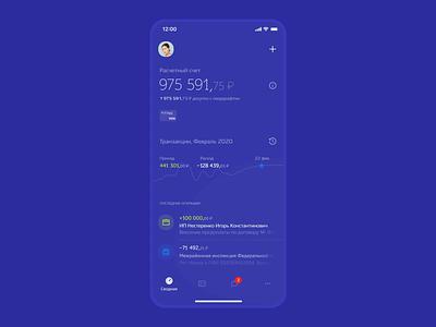 Kuban Credit Bank сoncept app online cashback cash interface money mobile app banking finance ios concept mobile app interaction design animation ux uiux ui