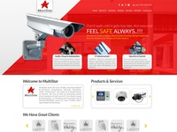 Security Cam Website Design