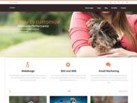 DENIM - Free Responsive Multipurpose HTML Website Template