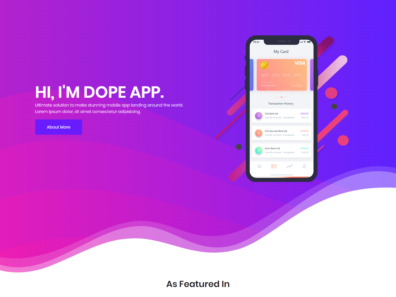 Dope - Multipurpose Bootstrap 4 Free Html Template free html website templates free mobile app landing page free mobile app landing template free bootstrap 4 templates free bootstrap templates free creative app landing page app free website app template free free business templates free one page template free website templates app free landing page free html templates
