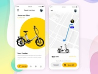Bike Rental App | Android | iPhone