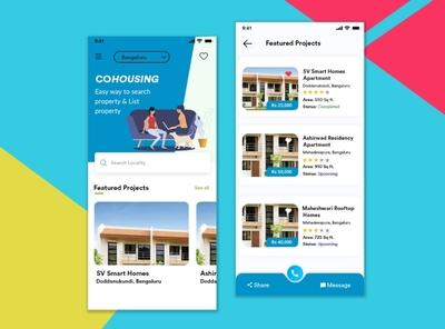 Customer-centric Real Estate App