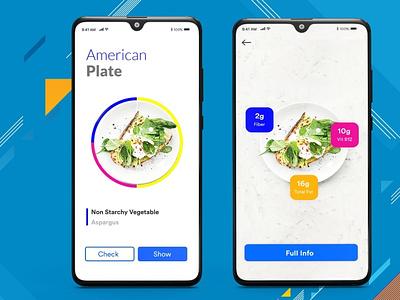 Diabetic AR Assisted App diabeticapp app designing android app b2cinfosolutions ui app development