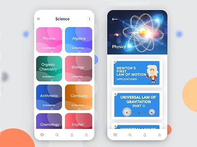 Skill Learning App android app app designing appdesign b2cinfosolutions ui app development