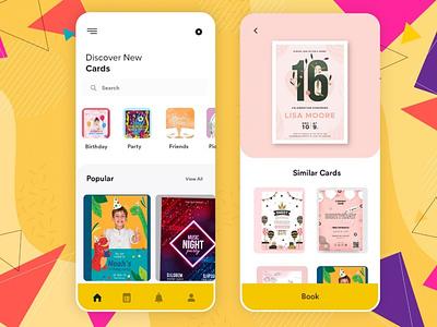 An Invitation App invitationapp covid19 ux ui appdesign android app b2cinfosolutions app development