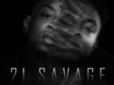 21 SAVAGE FX POSTER (Black and White)