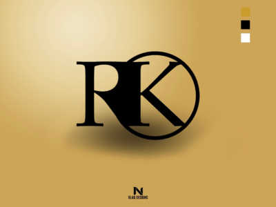 RK logo Colour Display (Gold)