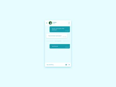 #DailyUI - 013 - Direct Messaging