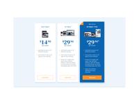 #DailyUI - 030 - Pricing