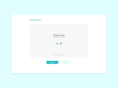 #DailyUI - 031 - File Upload