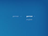 simple language selection