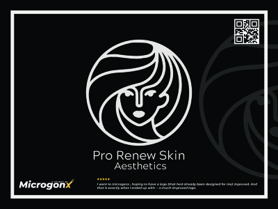 Pro Renew Skin Aesthetic animation ux vector ui graphic design typography minimal logo illustration design branding