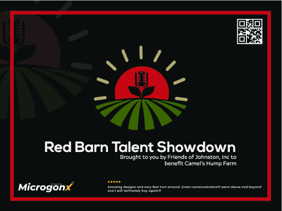 Red Barn Talent Showdown web design label design brochure design business card design animation ui graphic design vector typography minimal logo illustration design branding