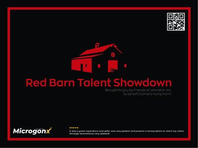 Red Barn Talent Showdown web design label design brouchure business card design type animation ui graphic design vector typography minimal logo illustration design branding
