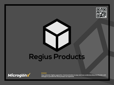 Regius Products webdesign label design web design business card design type animation graphic design vector typography minimal logo illustration design branding