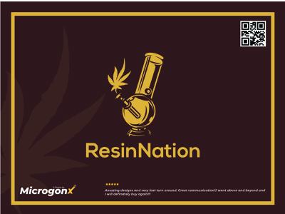 Resin Nation brouchure web design business card design ui animation graphic design vector typography minimal logo illustration design branding