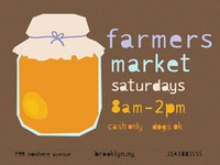 Honey/Farmers Market