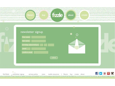 Newsletter fizzle