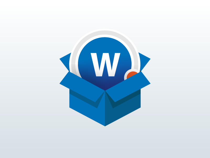 Wiser in a box icon