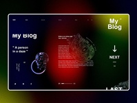 my blog webdesign