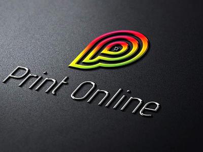 Print Online Logo minimal minimalist cool web design seo digital marketing real estate service modern logo design graphic design online colorful print logo