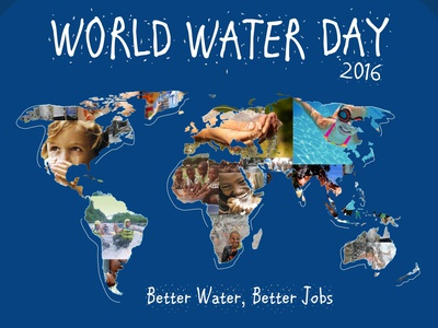 World Water Day Commemoration water promotional design poster design graphic design
