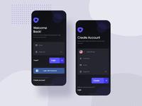 Login and Create Account Screen