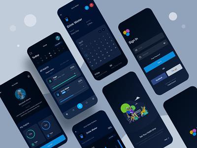 Hobit Tracker App Design ui ux design app developer app app design uiux uxdesign ux typography logo ui design ui dribbble design