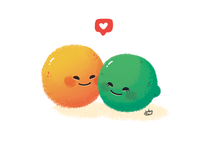 Don't be half an orange