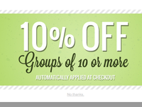 Group discount coupon