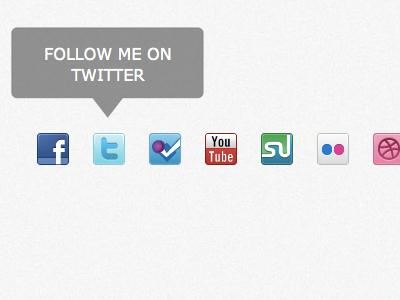 Elegant Social Media Menu social media elegant menu jquery