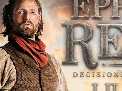 Ephraim's Rescue web site movie web site landing page film historical texturized