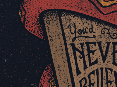 I'm going to... hand drawn lettering type typography illustration snake coffin