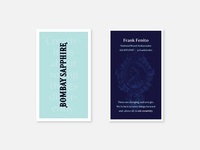 Bombay Sapphire Business Cards — Variant 2