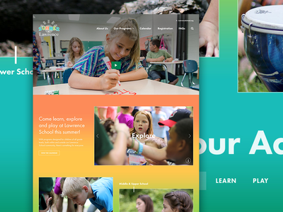 Summer Camp Homepage