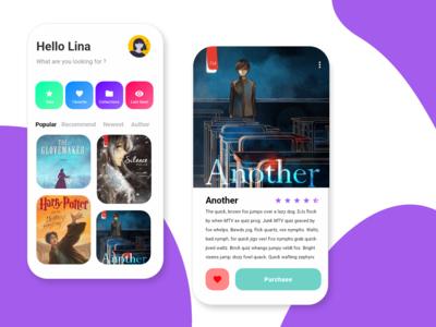 Novel hunter app design