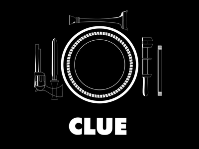 Weekly Warm-up:  Clue film icon