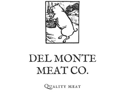 """""""Del Monte Meat"""" Client Logo Design"""