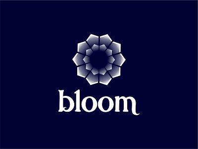 Bloom Logo brand designer brand logo design illustration brand identity logo branding vector design